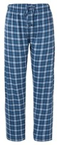 Hanes Premium Men's Hanes Premium® Knit Sleep Pant - Blue Plaid
