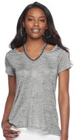 Juicy Couture Women's Embellished Cutout Tee