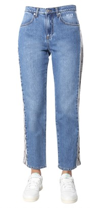 MSGM Jeans With Side Band