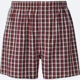 Uniqlo Men's Woven Checked Boxers