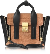 3.1 Phillip Lim Pashli Maple and Black Leather Mini Satchel