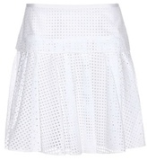 Rag & Bone Lakewood Perforated Cotton Skirt