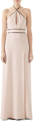 Gucci Tech Jersey Halter Gown