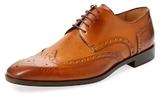 Saks Fifth Avenue Wingtip Blucher Derby Shoe