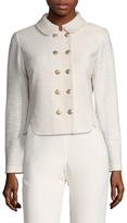 St. John Mili Wool Double Breasted Jacket