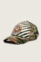 True Religion Striped Camo Baseball Cap