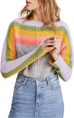 Free People See the Rainbow Sweater