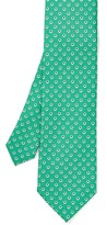 J.Mclaughlin Italian Silk Tie in Mini Daisy