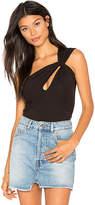 De Lacy Cleo Bodysuit in Black. - size L (also in M,S,XS)
