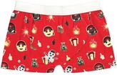 Boohoo Single Pack Christmas Emoji Boxers
