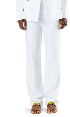 Tibi Sebastian High-Rise Suiting Pants