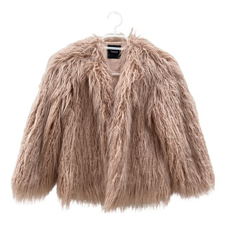 Theory Pink Faux fur Jackets