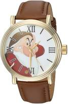 Disney Men's 'Snow White' Quartz Metal Casual Watch, Color: (Model: WDS000342)