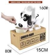 GreenSun(TM) Cute Automatic Dog Money Box Robotic Dog Money Saving Storage Box Banco Canino Coin Bank Best Gift For Kids Home Desk Decoration