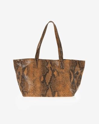 Express Joanna Maxham Leather Rive Gauche Tote