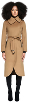 Catia Wool Trench Coat With Spread Collar