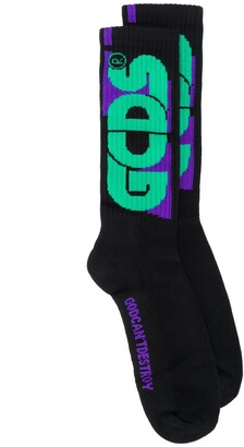 GCDS logo ankle socks