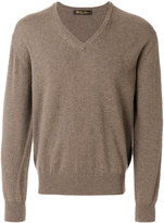 Loro Piana V-neck jumper - men - Cashmere - 50