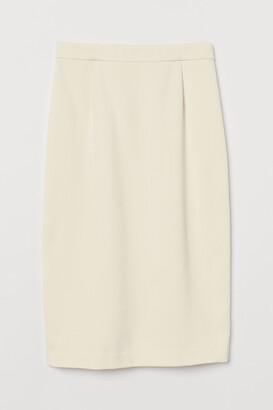 H&M Knee-length pencil skirt