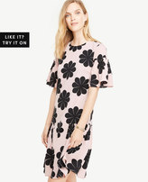 Ann Taylor Flower Power Shift Dress
