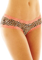 JCPenney Flirtitude Lace-Trim Hipster Panties