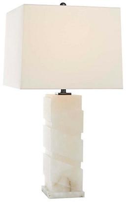 Bias Alabaster Table Lamp - Natural - Visual Comfort