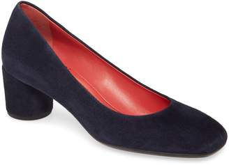Pas De Rouge Chantel Square Toe Pump