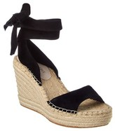 Kenneth Cole New York Odile Suede Wedge Sandal.