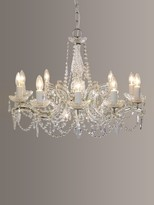 Theresa Impex Marie Chandelier, 10 Arm, Crystal