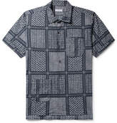 Engineered Garments Camp-Collar Printed Cotton And Silk-Blend Shirt
