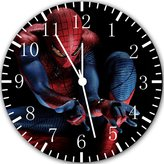 """Ikea New Spiderman Wall Clock 10""""Nice Gift Wall Decor Y26"""