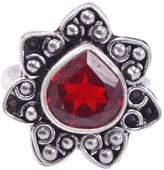 Saamarth Impex Quartz Gemstone Ring Sz 7.5 PG-115316