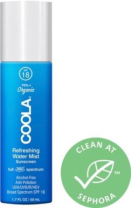 Coola Full Spectrum 360 Refreshing Water Mist Organic Face Sunscreen SPF 18