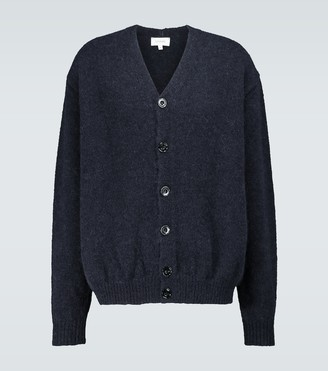 Lemaire Knitted alpaca-blend cardigan