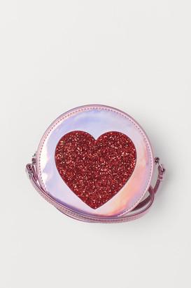 H&M Shimmering shoulder bag