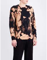 Obey Bleach Spill Cotton-jersey Top