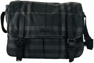 Burberry Anthracite Cloth Bags