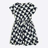 J.Crew Factory Printed hearts pocket dress