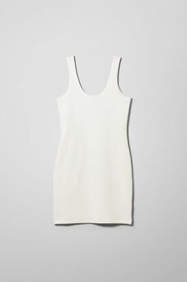 Weekday Pandora Dress - White