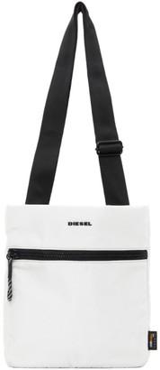 Diesel Grey F-Urbhanity Cross Messenger Bag