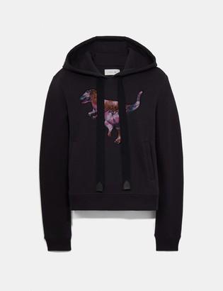 Coach Embroidered Rexy Sweatshirt With Kaffe Fassett Print