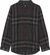 Burberry Mini Fred checked cotton shirt 4-14 years