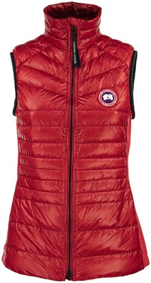 Canada Goose Women S Hybridge Lite Tech Down Vest Red
