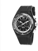 Technomarine Men's 110015 Cruise Sport Chronograph Black and White Dial Watch