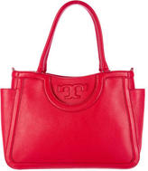 Tory Burch All T Pebbled Leather Tote