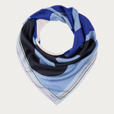 Bally Printed Silk Scarf