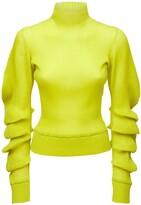 Thumbnail for your product : Bottega Veneta Silk Rib Knit Turtleneck Sweater