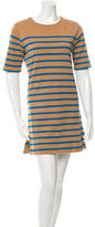 By Malene Birger Striped Mini Dress