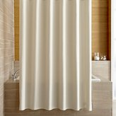 Crate & Barrel Pebble Matelassé Oyster Shower Curtain