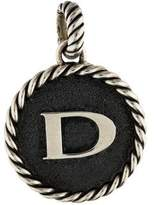 David Yurman Cable Collectables Initial 'D' Charm